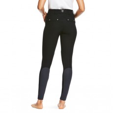 Ariat Women's Tri Factor Grip Knee Patch Breeches (Black)