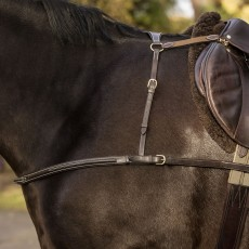 Mark Todd 4-Point Breastplate (Havana)