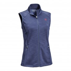 Ariat Women's Conquest Full Zip Vest (Navy)