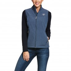 Ariat Women's New Team Softshell Vest (Lake Life Heather)