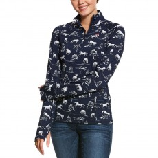 Ariat (Sample) Women's Lowell 2.0 1/4 Zip Long Sleeve Base Layer (Shadow Pasture)