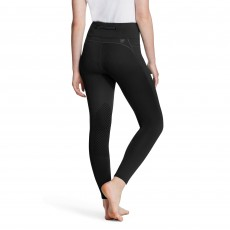 Ariat Women's Attain Thermal Knee Patch Tight (Black)