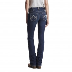 Ariat Women's R.E.A.L Straight Icon Jeans (Ocean)