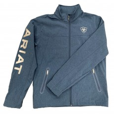 Ariat Men's New Team Softshell Jacket (Lake Life Heather)
