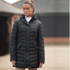 Mark Todd Ladies Quilted Jacket (Black)
