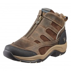 Ariat Women's Terrain Zip H2O Boots (Distressed Brown)