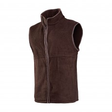 Baleno Men's Harvey Fleece Waistcoat (Brown)