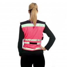 Equisafety Adults Air Waistcoat Plain (Pink)