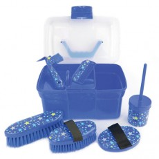 Lincoln Star Pattern Grooming Kit (Navy)
