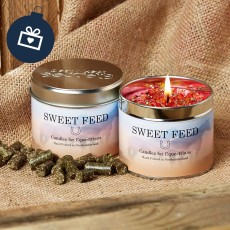 Scented Candle (Sweet Feed)