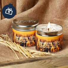 Scented Candle (Harvest Time)