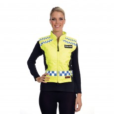 Equisafety Adults Polite Quilted Hi-Vis Gilet (Yellow)