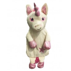 Unicorn Hot Water Bottle (Pink)