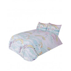 Unicorn Printed Single Duvet Set