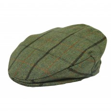 Dunwood British Wool Flat Cap Tweed