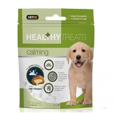 VetIQ Healthy Dogs & Puppy Treats (Calming)