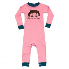 LazyOne Girls Sleepsuit (Pasture Bedtime)