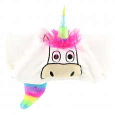 LazyOne Hooded Critter Fleece Blanket (Unicorn)