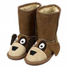 LazyOne Kids Toasty Toez Slippers (Dog)