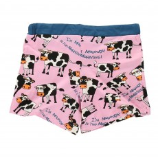 LazyOne Women's Mooody in the Morning PJ Boxer Shorts
