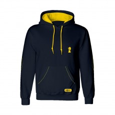 Little Rider Lancelot Hoodie by Little Knight  (Navy/Yellow)