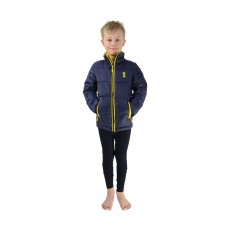 Little Rider Lancelot Padded Jacket by Little Knight  (Navy/Yellow)