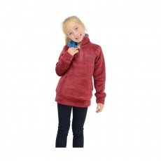 Little Rider Nina Soft Fleece  (Deep Red/Soft Teal)