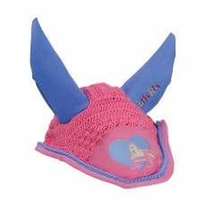 Little Rider Little Show Pony Fly Veil  (Cameo Pink/Regatta Blue)