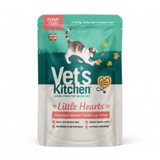 Vet's Kitchen Little Hearts Cat Treats (Salmon)