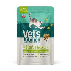 Vet's Kitchen Little Hearts Cat Treats (Fish and Meat)