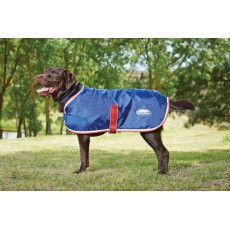 Weatherbeeta Comfitec Windbreaker 420d Dog Coat II (Navy/Red/White)