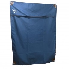Mark Todd Deluxe Stable Door Drape (Navy/Brown)