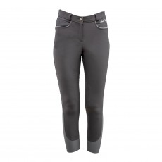 Mark Todd Women's Tornio Winter Breeches (Grey/Silver)
