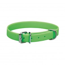 Woofmasta Easy Clean Dog Collar (Neon Green)
