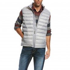 Ariat (Sample) Men's Ideal Down Vest (Grey)