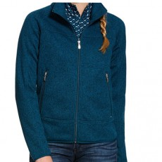 Ariat (Sample) Women's Sovereign Full Zip Jacket (Dream Teal)