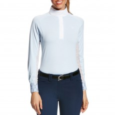 Ariat (Sample) Women's Marquis Show Top (Blue Cloud Stripe)