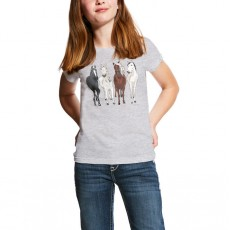 Ariat (Sample) Girl's 360 View Tee (White)