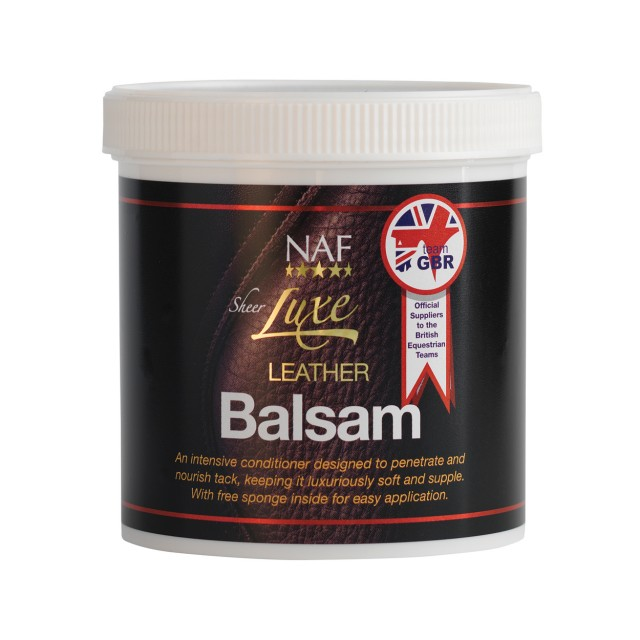 NAF Sheer Luxe Leather Balsam
