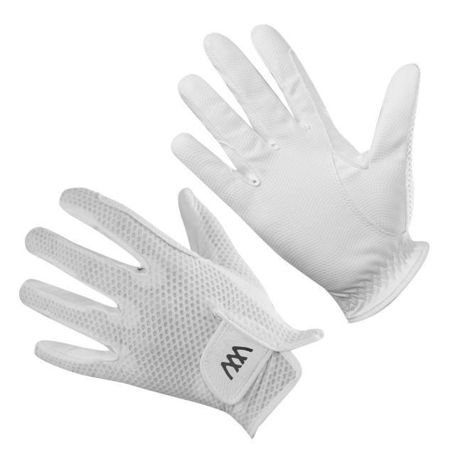 woof wear event glove size 9 white