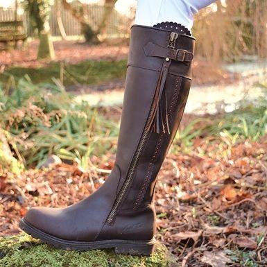 Cognac Mark Todd Women S Masterton Tall Boot Old Dairy