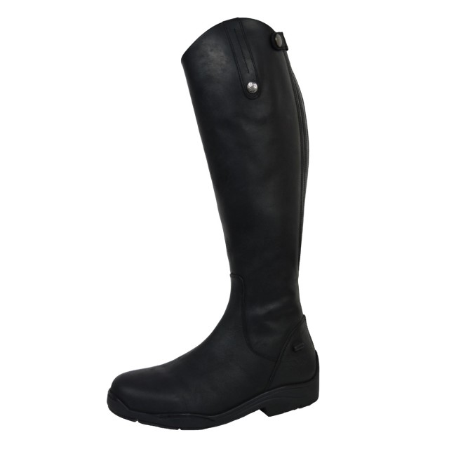 93073ee5a96 Mark Todd Adults Fleece Lined Tall Winter Boot Black - Old Dairy Saddlery