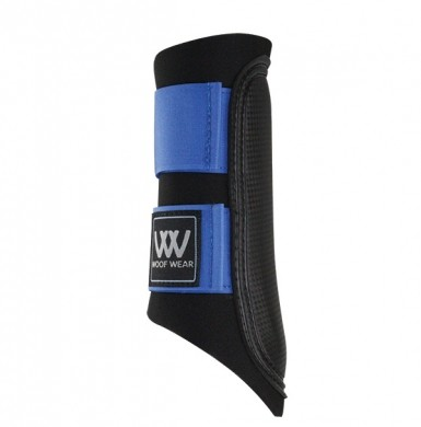 Woof Wear Club Brushing Boot Colour Fusion (Black/Electric Blue)