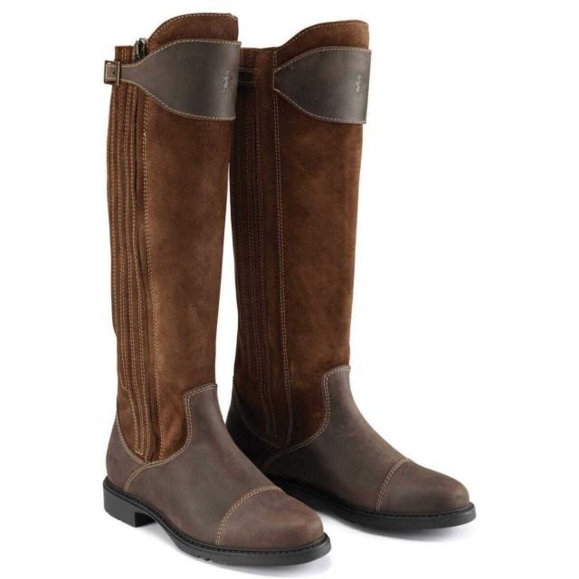 Caldene Buckland Long Boots Tan Old Dairy Saddlery