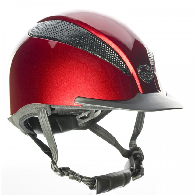 Champion Air-Tech Deluxe Riding Hat (Ruby)